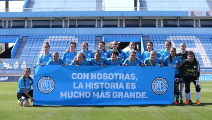 DEBUT CON GOLEADA. Belgrano jugó su primer partido en Alberdi y no dejó dudas: 12 a 0 a General Lamadrid.