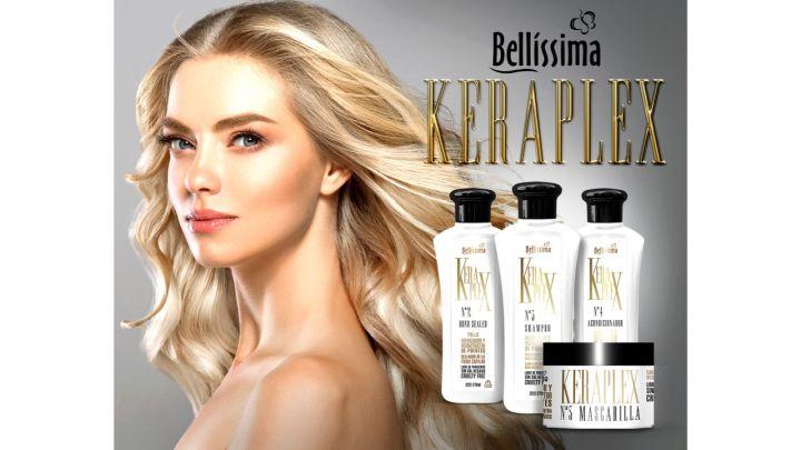 Bellissima Cosmética Capilar presenta a su nueva línea Keraplex