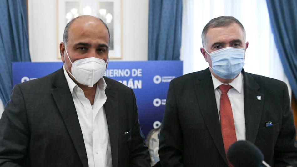 Juan Manzur y Osvaldo Jaldo