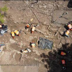 En total, encontraron 2555 vestigios arqueológicos.