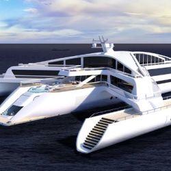 El Estrella Superyacht tendrá una velocidad de crucero de 15 nudos y podrá llevar hasta 20 pasajeros.
