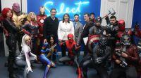 En 2019, Victoria Alonso, actual presidenta de Marvel Studios, fue homenajeada en La Plata