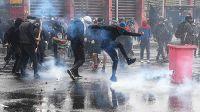 Manifestaciones en el aniversario del golpe a Allende terminaron en disturbios