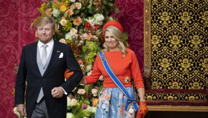 Máxima Zorreguieta: Cada detalle de un colorido atuendo para el Prinsjesdag