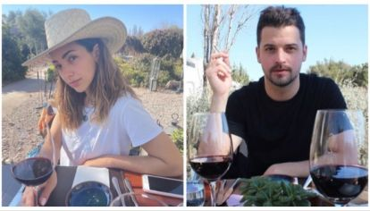 Thelma Fardín confirmó su romance con Camilo Vaca Narvaja