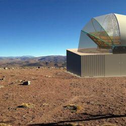 El telescopio estará encerrado dentro de una carcasa cilíndrica que sirve para mantener temperaturas muy bajas.