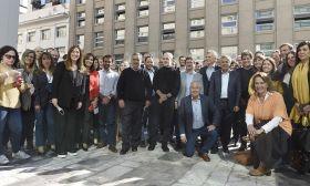 juntos por el cambio coalition candidates photo-op
