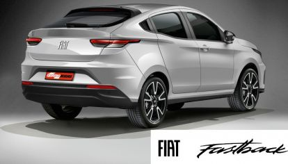 El SUV coupé de Fiat tendrá frente de Pulse y se llamará Fastback