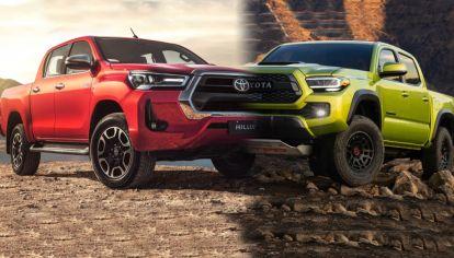 Las nuevas Toyota Hilux y Tacoma se unificarán