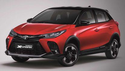 El nuevo Toyota Yaris suma una versión aventurera