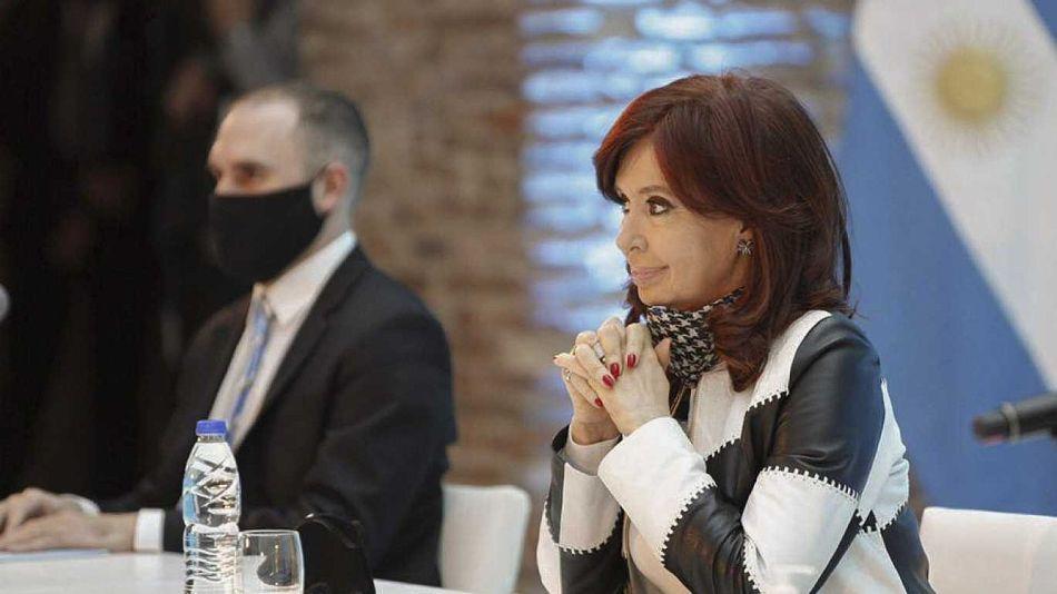 Cristina Kirchner y Martín Guzmán