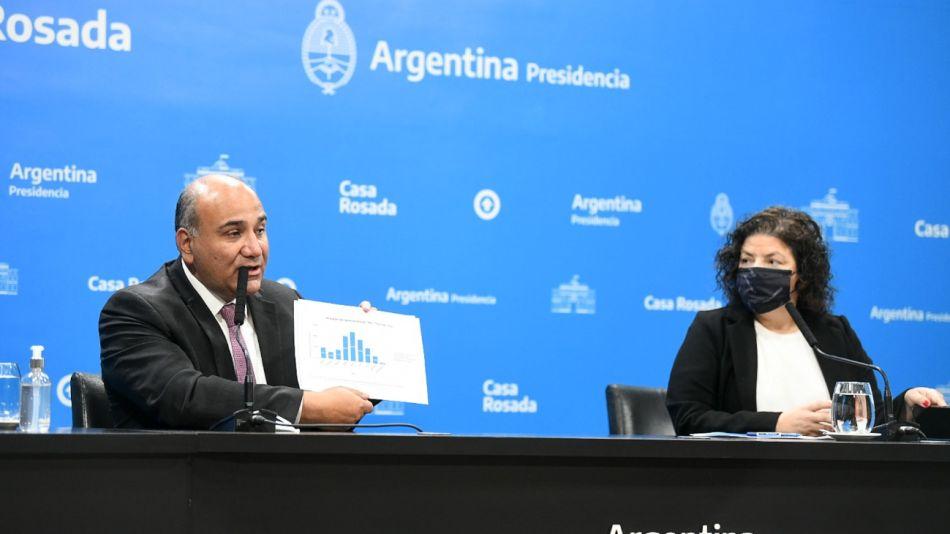 Juan Manzur carla vizzotti g_20210922