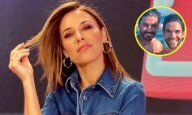Mariana Brey, Hernán Piquín y su novio