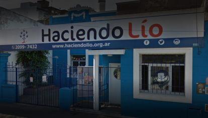 La fundación Haciendo Lío está ubicada en Morón, provincia de Buenos Aires.