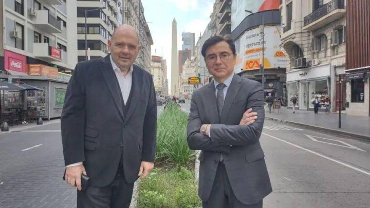 Carlos Rottemberg y Jorge Fontevecchia le dan la bienvenida a VIVO