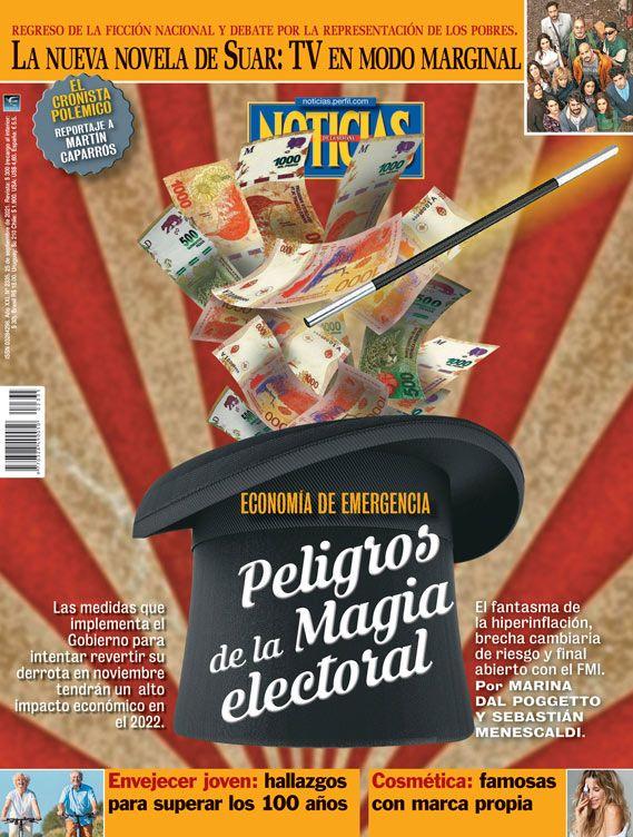 Tapa Nº 2335: Peligros de la magia electoral | Foto:Pablo Temes
