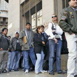 El índice de desocupación bajó al 9,6%.