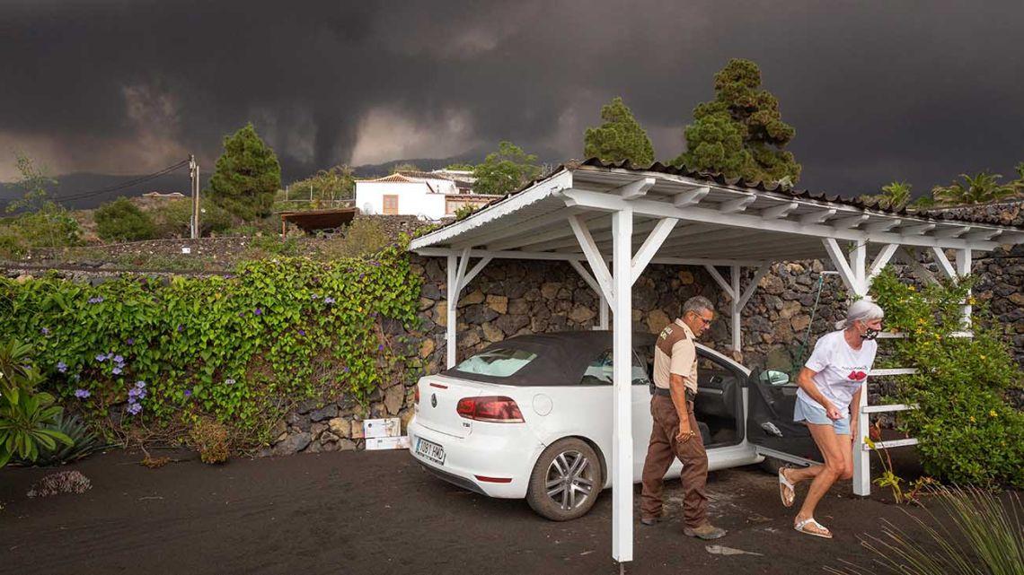 España: las impactantes fotos de la erupción del Volcán Cumbre Vieja que arrasó con 320 edificios