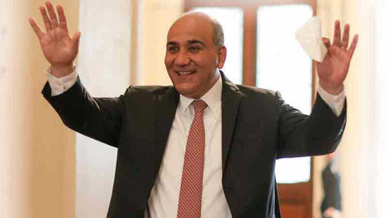 El jefe de Gabinete Juan Luis Manzur. | Foto:Cedoc.