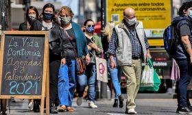 facemasks buenos aires coronavirus covid stock