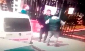 pelea de padres en Caseros