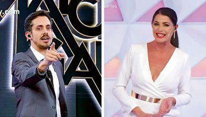 El Trece y América TV suman sus programas de juegos con Agustín Soy Rada Aristarán y Pamela David