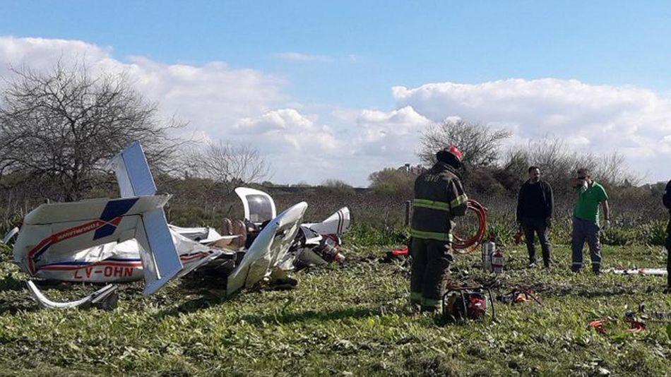 Accidente aéreo en Berazategui 20210924