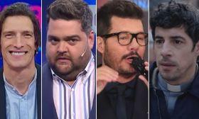 Ivan de Pineda, Dario Barassi, Marcelo Tinelli y Esteban Lamothe