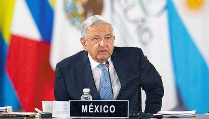 CELAC. El presidente López Obrador señaló la conveniencia de tener un mercado único.