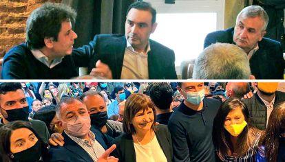 Postales. Manes, Valdés y Morales, en desayuno radical. Bullrich estuvo ayer en Córdoba con Juez, Machado y De Loredo.