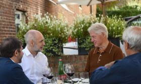Horacio Rodríguez Larreta Bill Clinton lunch