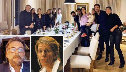 Imputados. Alberto F, la primera dama y sus amigos en la fiesta de cumpleaños. Mirabelli y Arroyo Salgado, magistrados en pugna.