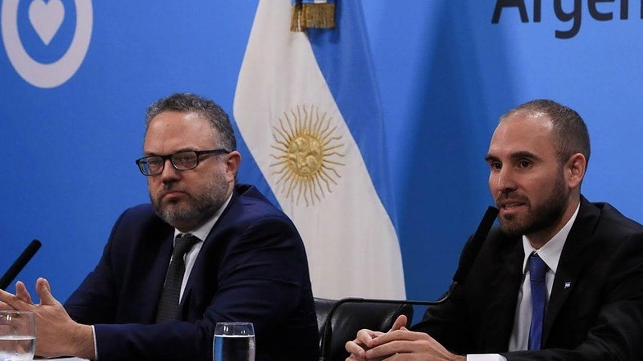 Guzmán y Kulfas   Foto:Cedoc