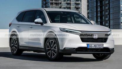 ¿Así será el diseño final del nuevo Honda CR-V?
