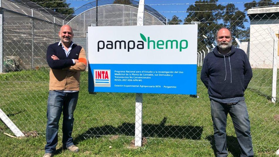 Pablo Fazio y Sebastián Tedesco, fundadores de Pampa Hemp