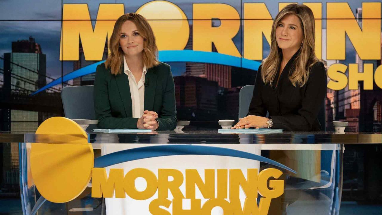 """""""The Morning Show"""": Reese Witherspoon y Jennifer Aniston 