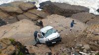 En 47 días tres autos se estrellaron contra las rocas en la misma zona de Mar del Plata
