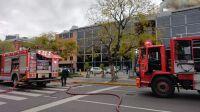 Incendio en Restaurant Gourmet Porteño 20210930