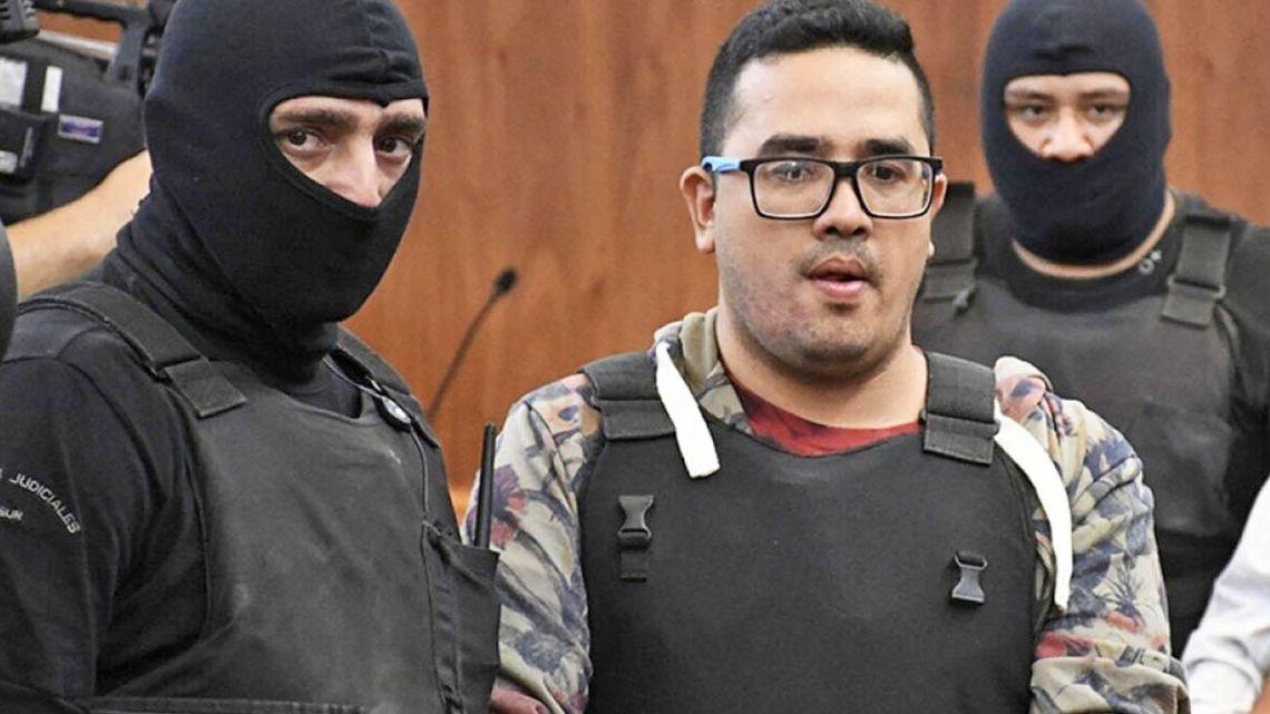 Ariel Máximo 'Guille' Cantero, head of Los Monos drug gang.