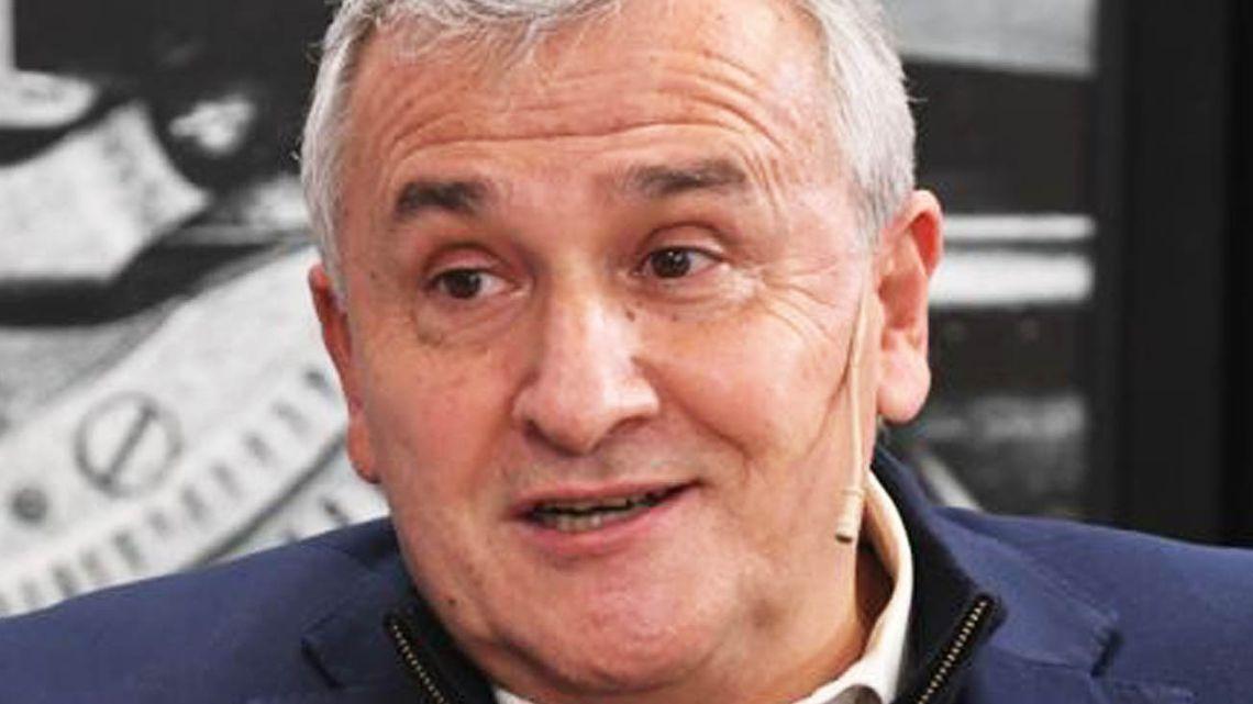 Jujuy Province Governor Gerardo Morales.