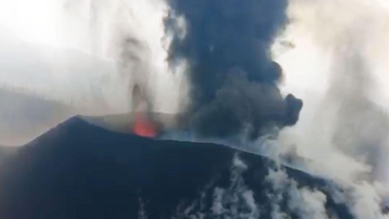 Confirman un nuevo foco de emisión en el volcán de La Palma | Foto:cedoc