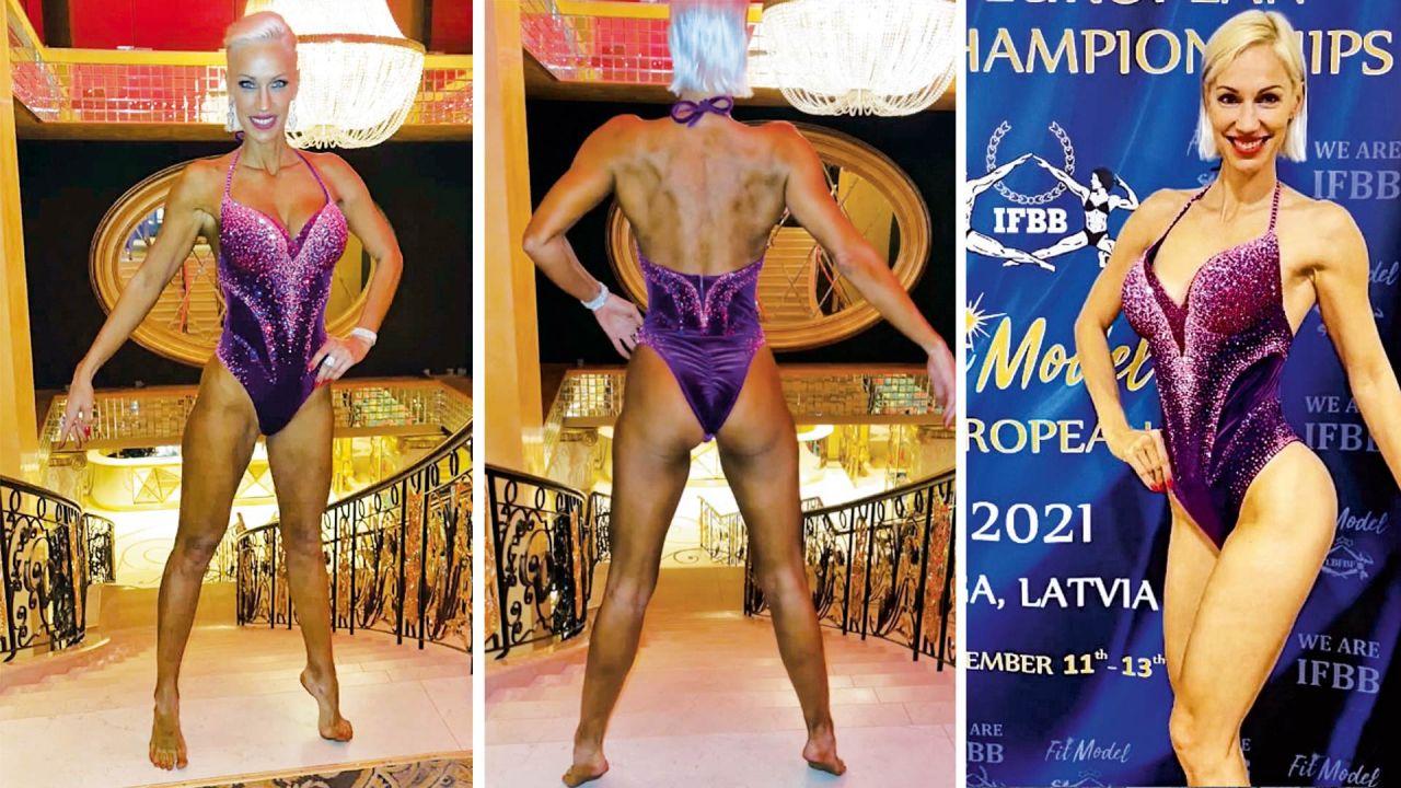 Ingrid Grudke y su debut en el Fit Modelling. | Foto:CEDOC.