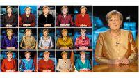 16 discursos de fin de año ininterrumpidos pronunció la canciller de Alemania, Angela Merkel.