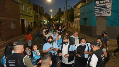 El sabor del reencuentro. Los hinchas de Belgrano vivieron con mucho entusiasmo el regreso a las canchas después de 19 meses.