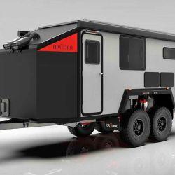 Diseñado por la marca Bruder, el modelo se caracteriza por hacer hincapié en la autonomía.