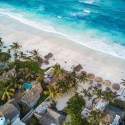 Playa Tulum, México.
