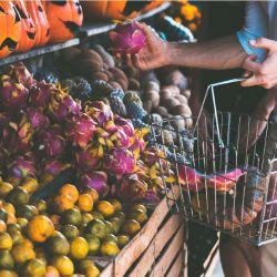 Mercado en Tulum.