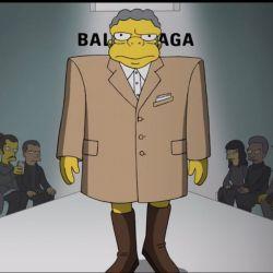 Los Simpson en la Semana de la Moda de París