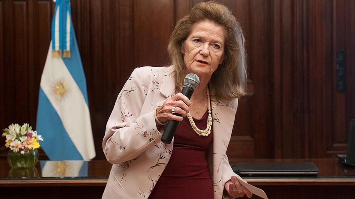 Supreme Court Justice Elena Highton de Nolasco