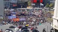 Manifestación de Organizaciones Sociales en el centro Porteño 202211005